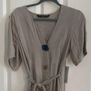 Zara Taupe Dress